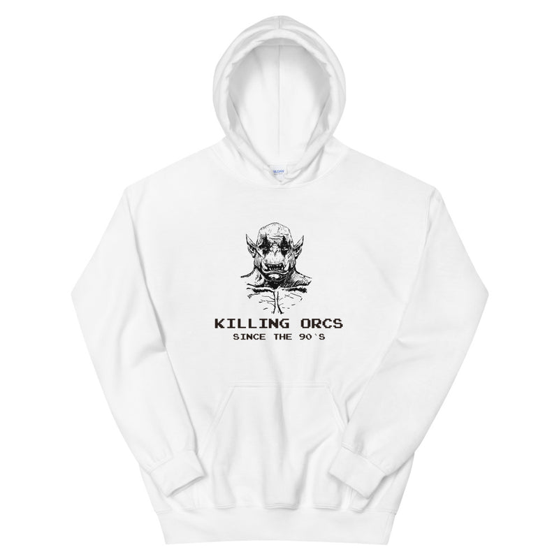 Killing Orcs since the 90`s Hoodie