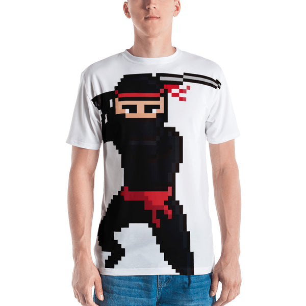 Ninja Pixel All over Men's T-shirt