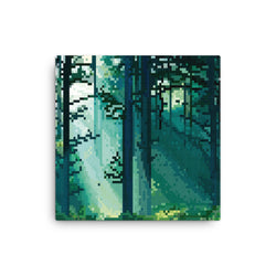 Forest Pixel Canvas