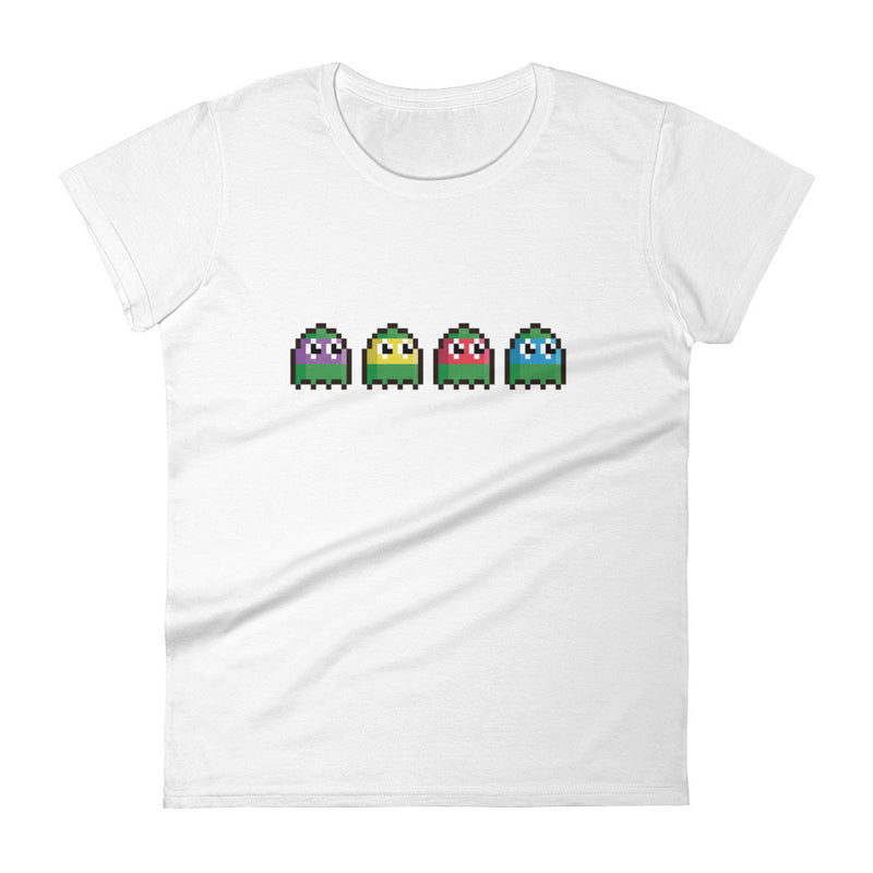 Pacman Turtles Pixel Women's  t-shirt