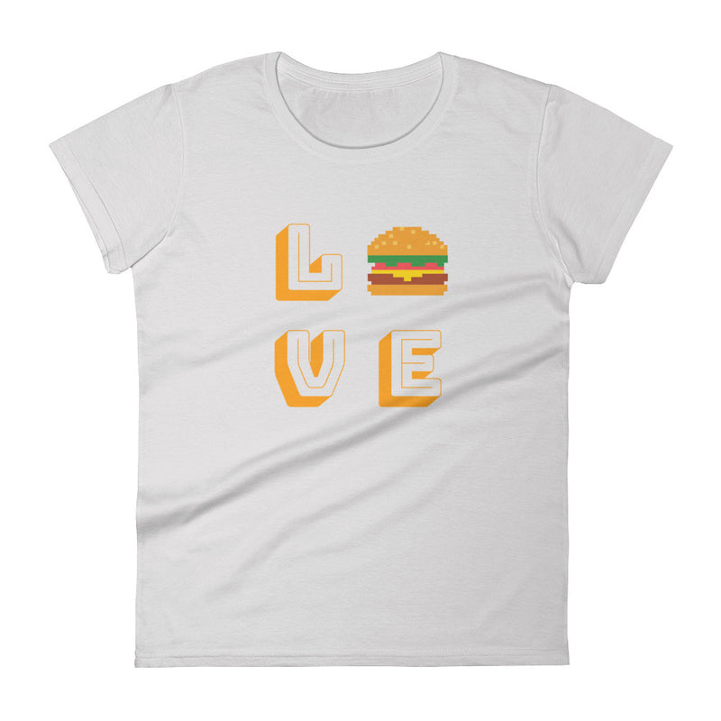 Hamburger love Women's  t-shirt