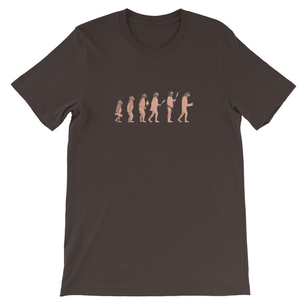 Darwin evolution phone T-Shirt