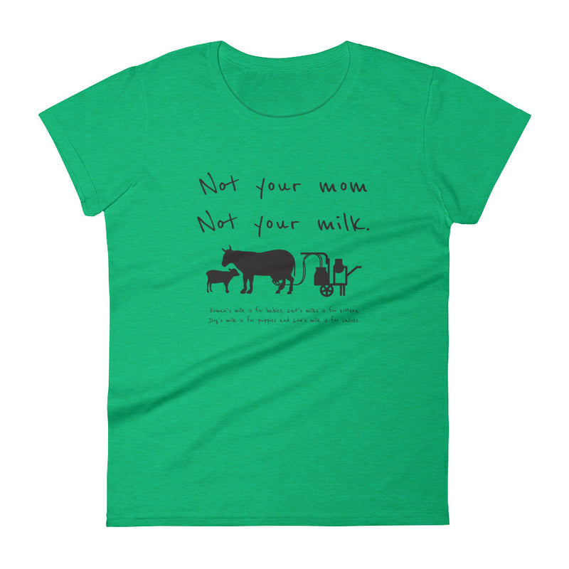 Not your mom not your milk Women's  t-shirt