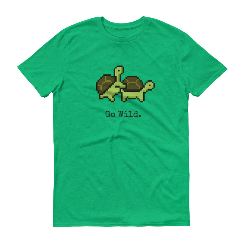 Turtles Go wild Pixel T-Shirt