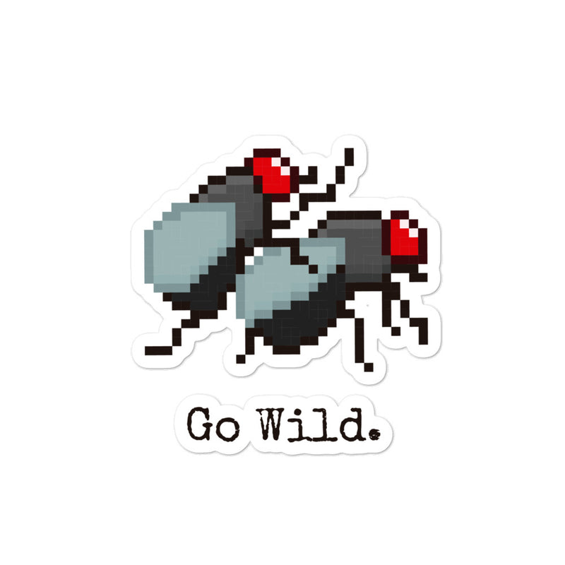 Go wild Sticker