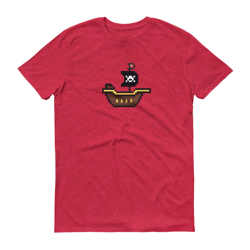 Pirates ship Pixel T-Shirt