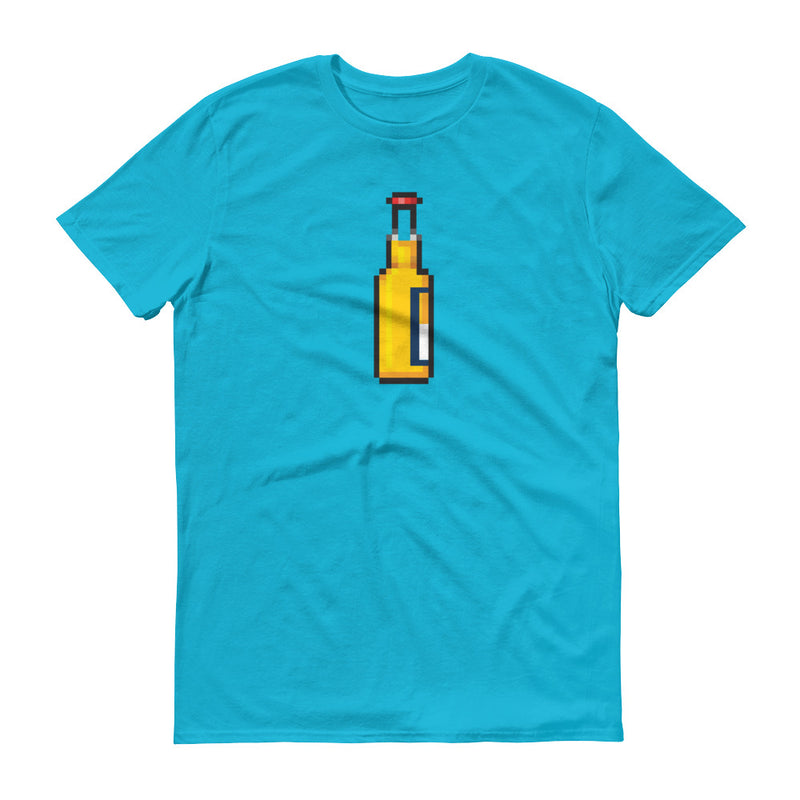 Beer Bottle Pixel T-Shirt
