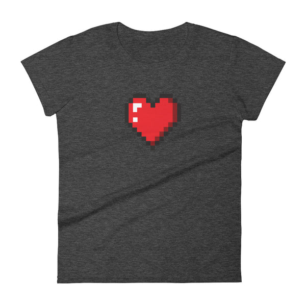 Heart Pixel Women's  t-shirt