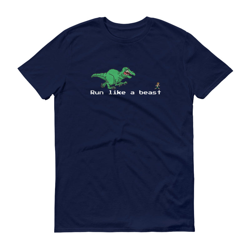Run like a beast pixel T-Shirt