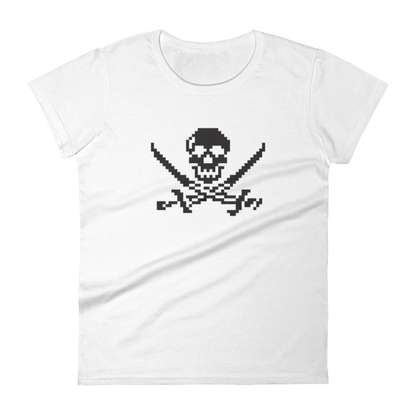 Pirates pixel Women's  t-shirt