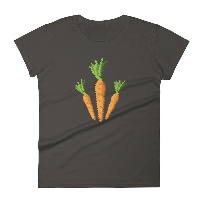 Carrots Pixel Women's t-shirt