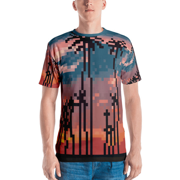 Los Angeles Pixel All Over T-shirt