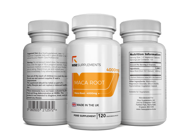 Maca Root (4000mg) Capsules