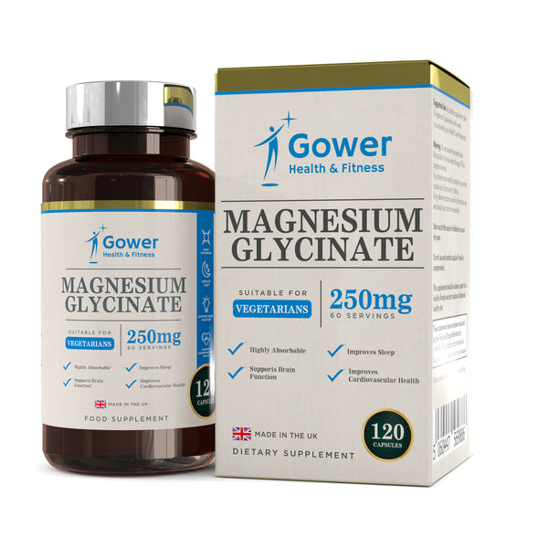 Magnesium Glycinate (125mg) Capsules