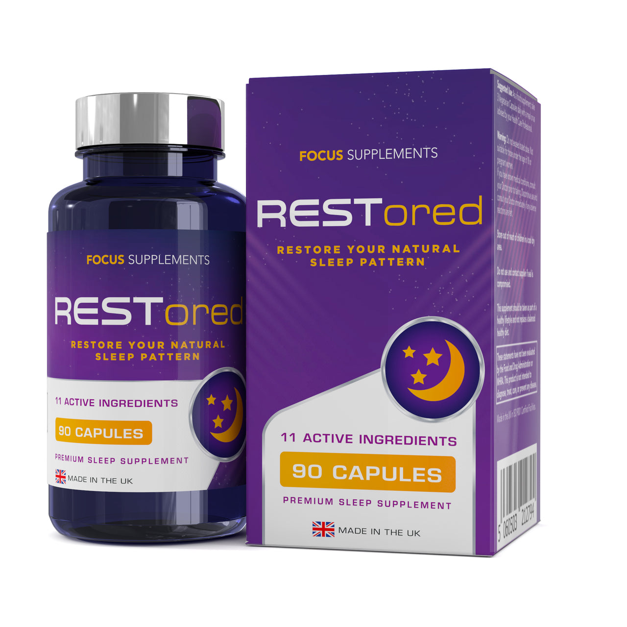 RESTored (Premium Sleep Stack) Capsules