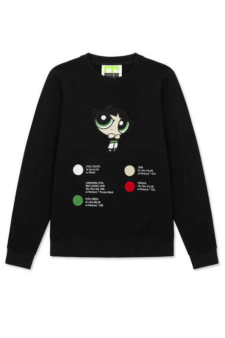 buttercup embroidered sweat