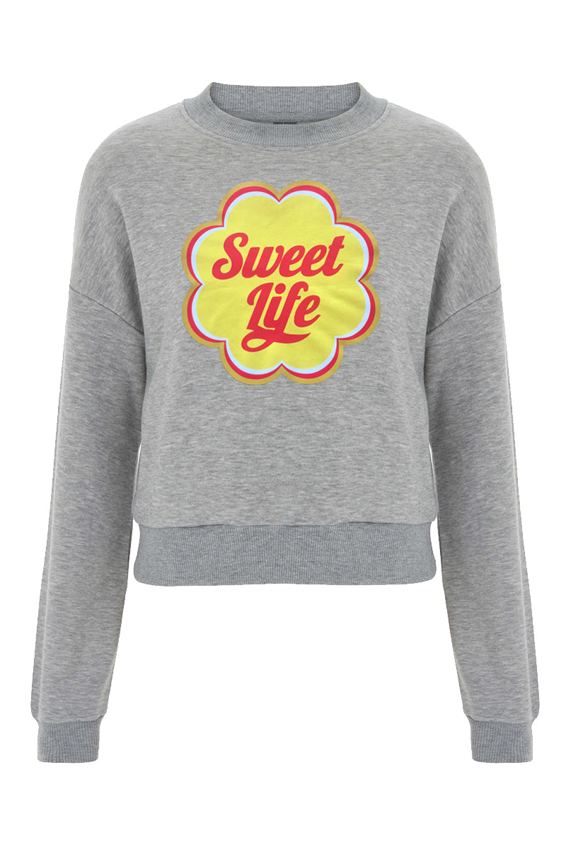 sweet life sweat grey