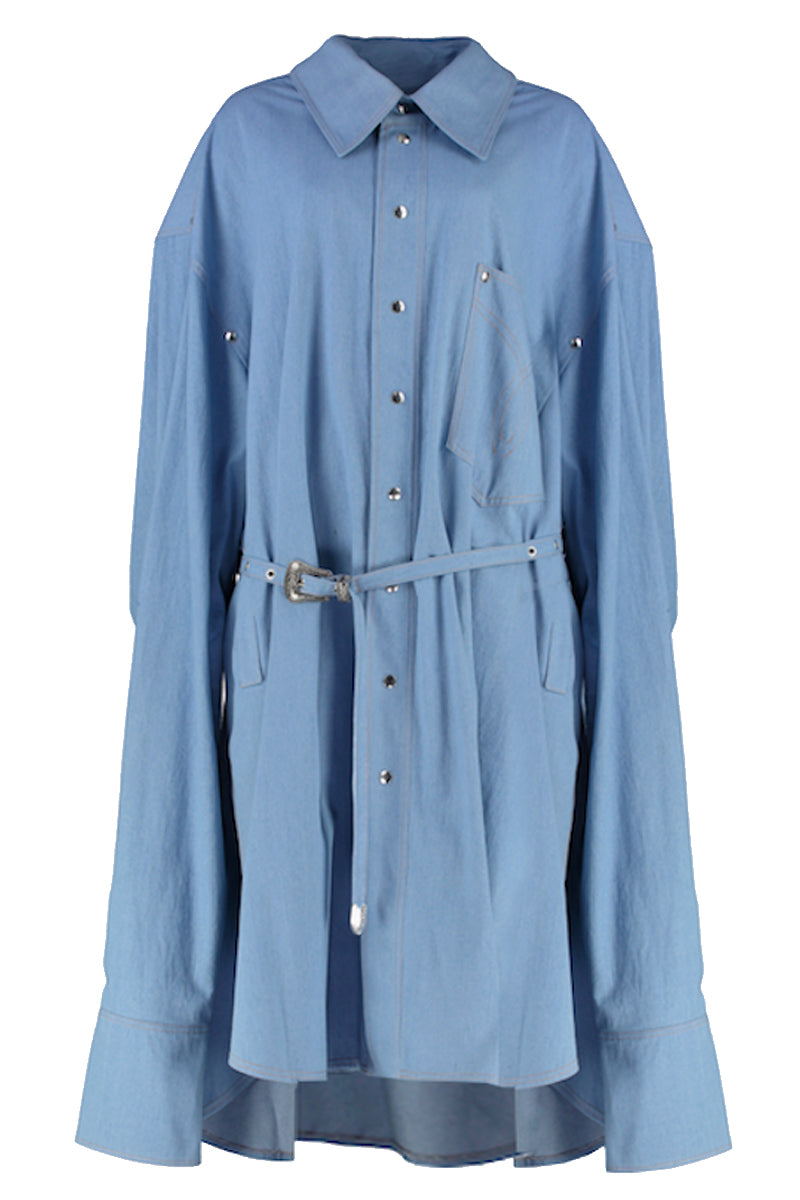 OVERSIZED SHIRT COAT