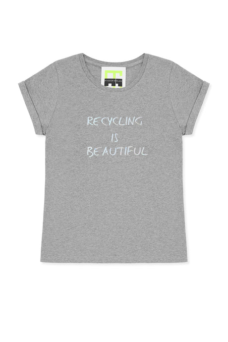 recycling is beautiful t-shirt