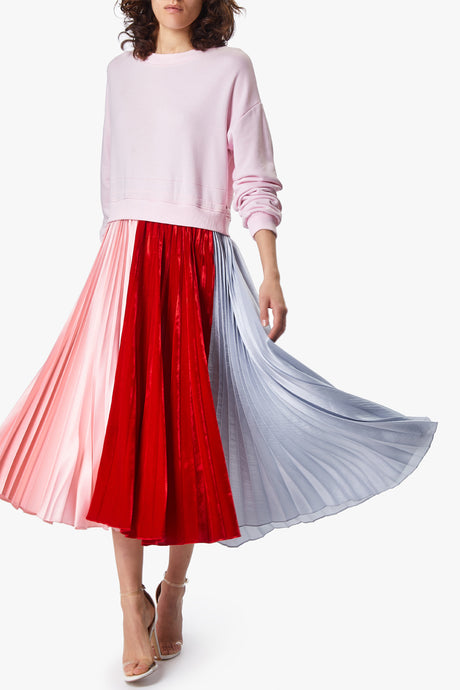 suspiria pleated dress