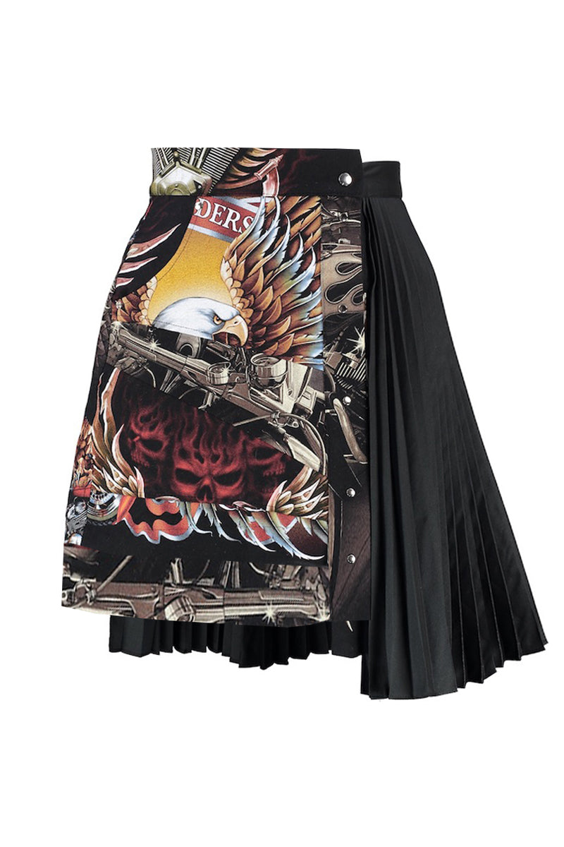 EAGLE RIDERS CROP SKIRT