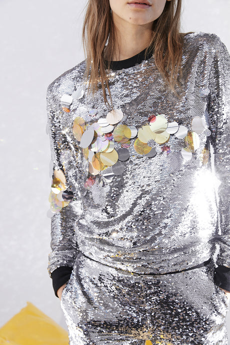 mirage sequin top