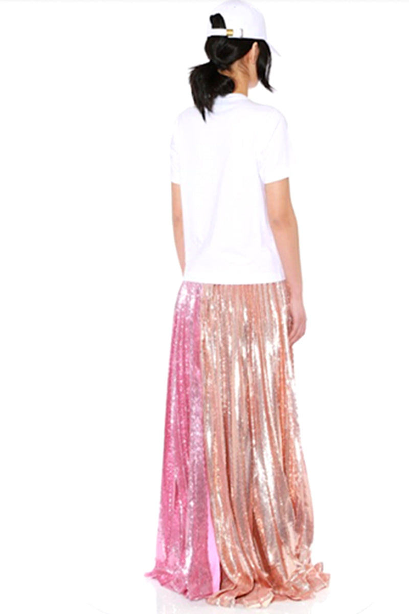 asteroid pleated skirt
