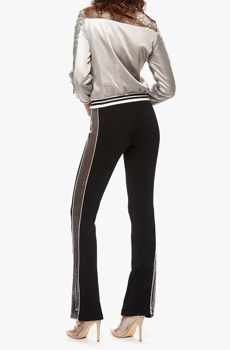 contour sequin trackpant
