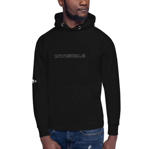 INVISIBLE UNISEX HOODIE