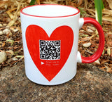 QR Coded Mug
