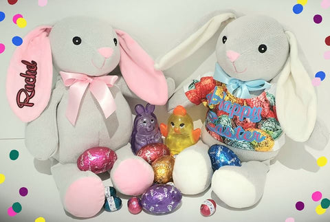 Bunnies -Plush &  Personalised