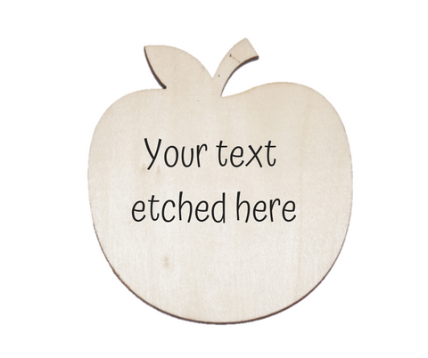 Personalised Apple or Pear - Great for Teachers- LIMITED STOCK
