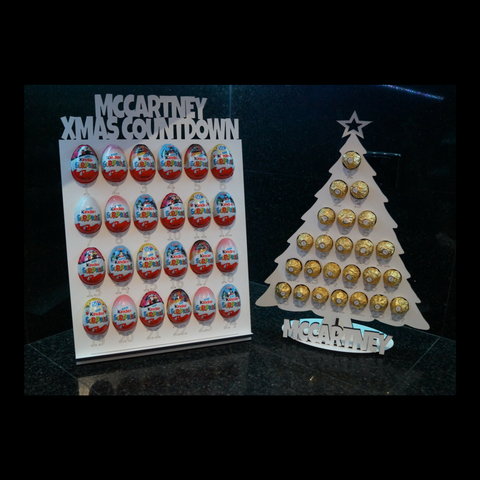 Christmas Countdown/Advent Calender - Kinder- Egg
