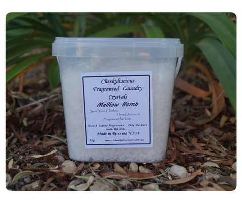 Scented Laundry Crystals - Pail (1kg)