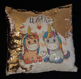 Magic Mermaid Cushions - Personalised