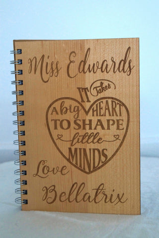 Notebook- A5 - Personalised