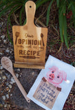 Wooden Spoon - personalised