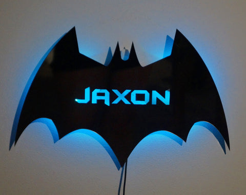 Bat Wall Light - Personalised