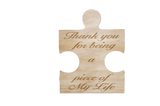 Puzzle Piece - Thank You