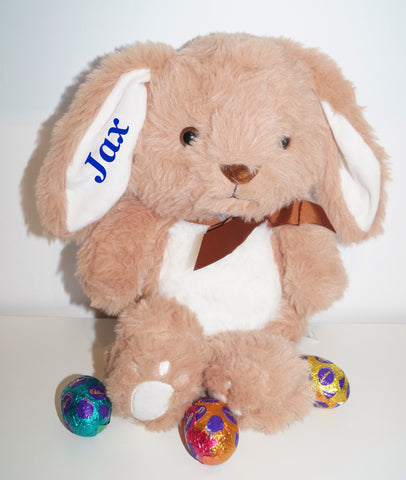 Personalised Bunny- Chocolate Scented