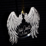 Angel Wings Ornament