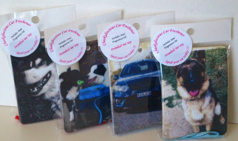 Car Fresheners - Fully Personalised