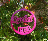 Acrylic Christmas Decorations- Personalised