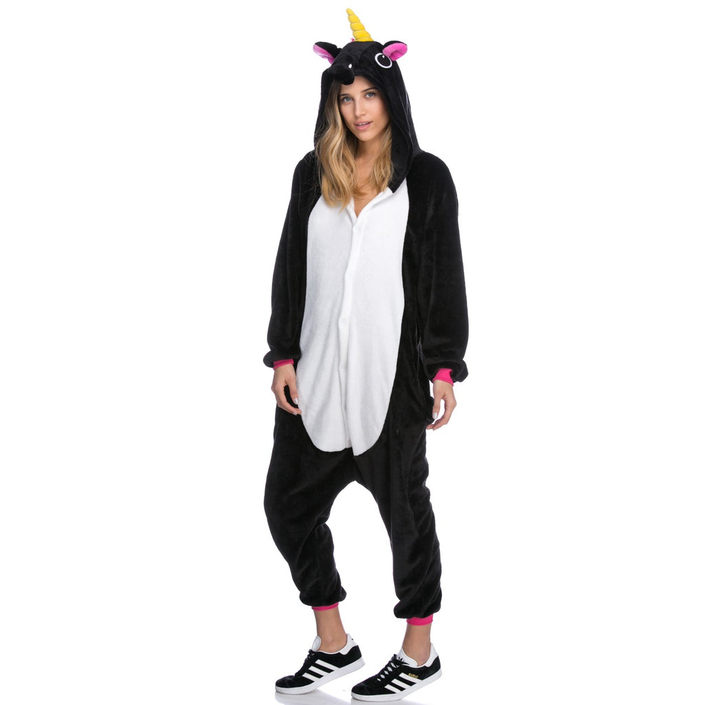 Black Unicorn Onesie