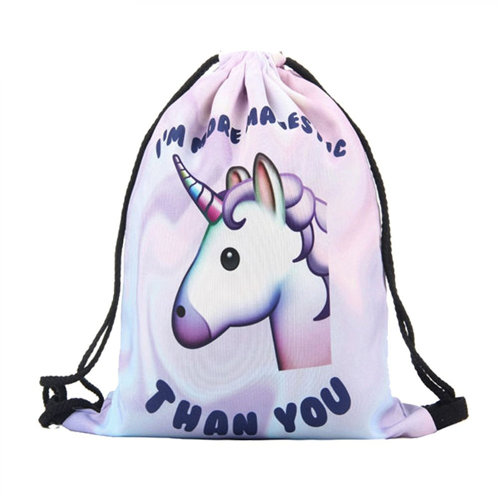 Majestic Than You Drawstrings Bag
