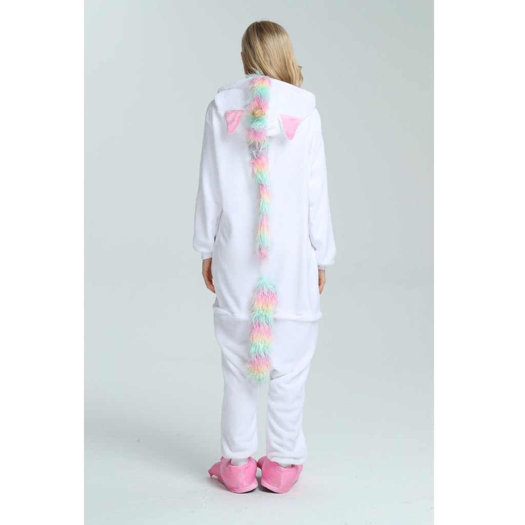 Pink Rainbow Unicorn Onesie