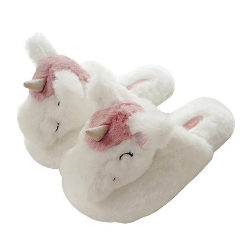 Cute Sleeping Unicorn Slippers