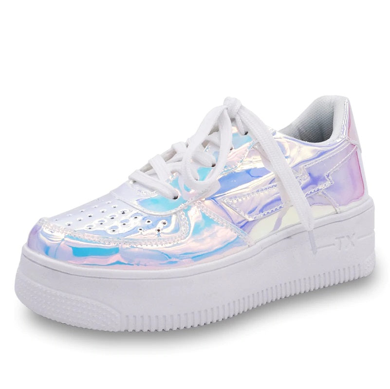 Unicorn Holographic Crepper Sneakers