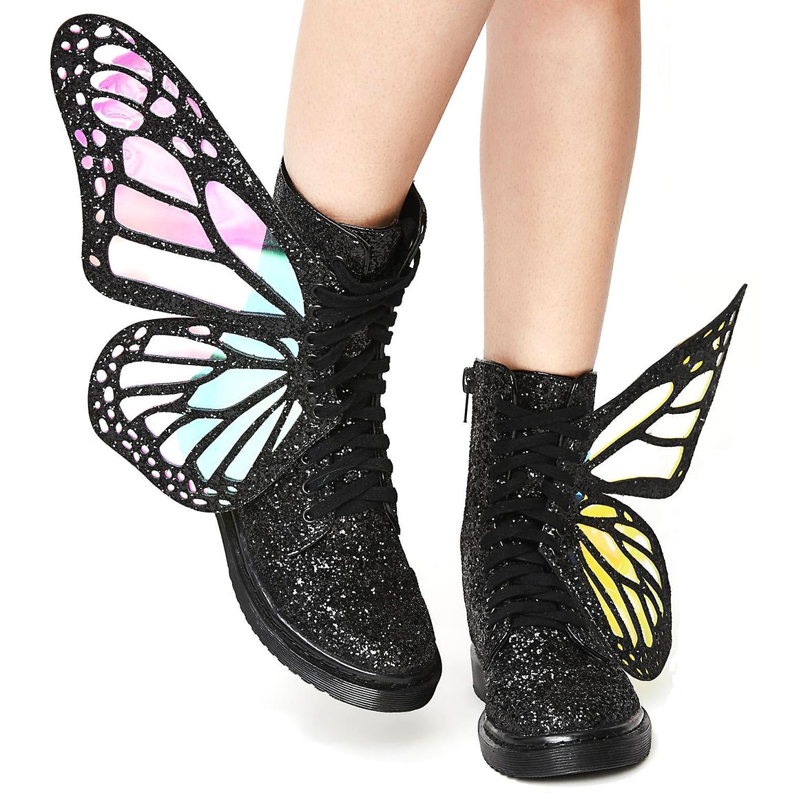 Night Butterfly Boots