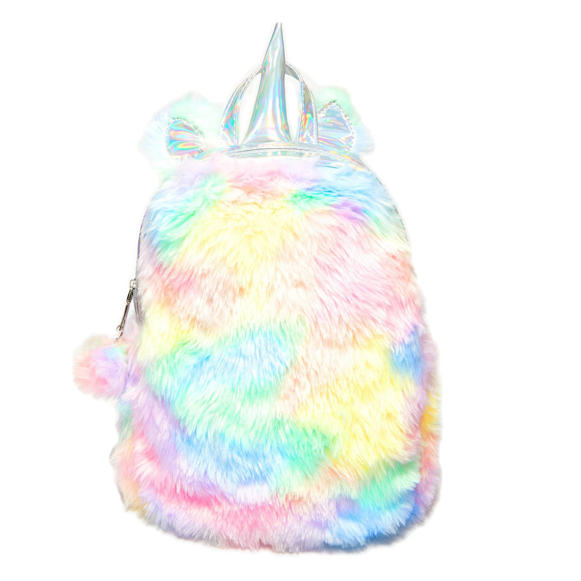Fluffy Horn Mini Backpack